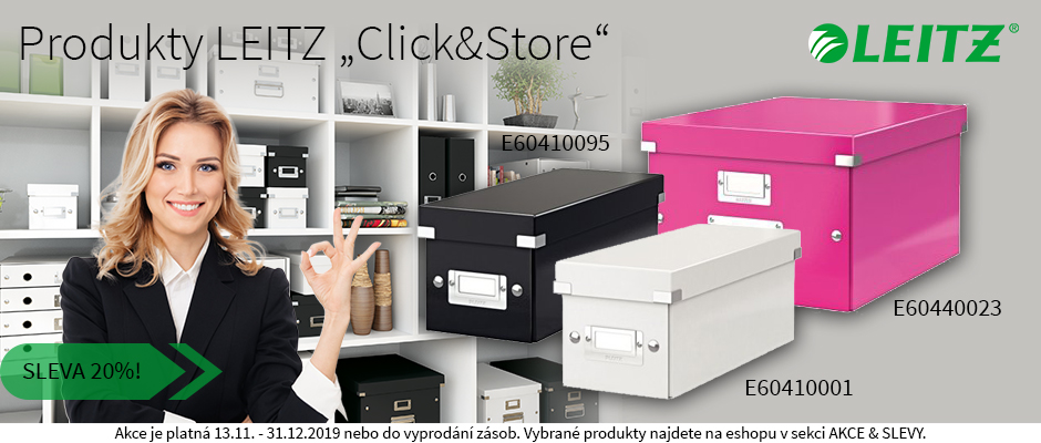 Produkty LEITZ Click & Store